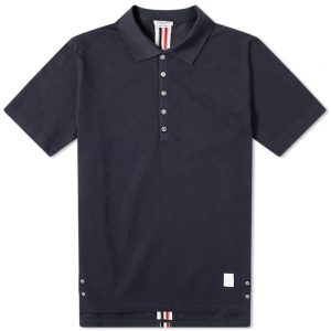 Thom Browne Back Stripe Relaxed Fit Polo