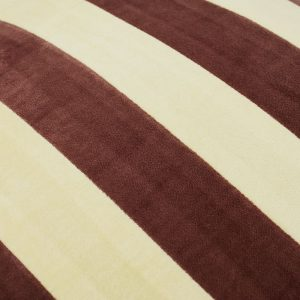 HKliving Striped Velvet Cushion