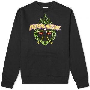 Fucking Awesome Hindu Eyes Crew Sweat