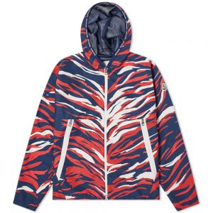 Moncler Tricolore Camo Hooded Jacket