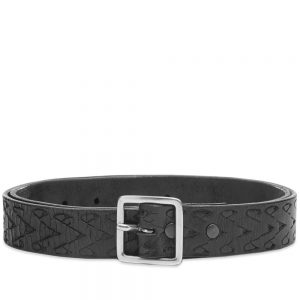 RE/DONE Embossed Square Buckle Belt