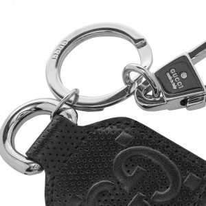 Gucci GG Embossed Keyring