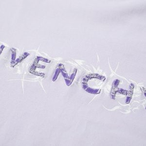 Givenchy Barbed Wire Tufting Logo Tee