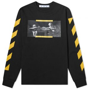 Off-White Long Sleeve Caravaggio Painting Tee