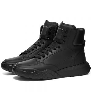 Alexander McQueen Court Mid Nappa Leather