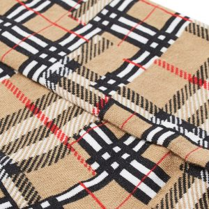 Burberry Patchwork Check Sock