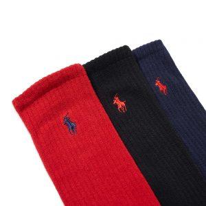 Polo Ralph Lauren Cotton Crew Sock - 6 Pack