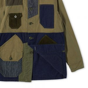 FDMTL Patchwork Coverall Jacket